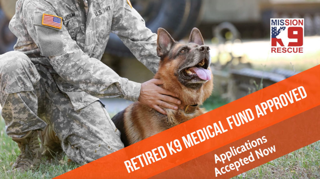 Retired K9 Medical Fund