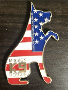 Mission K9 Rescue challenge coin