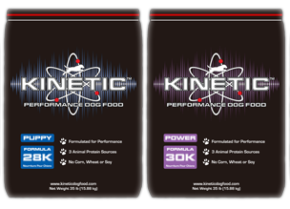 Kinetic Performance Dog Food Partners With Mission K9